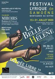 Festival Lyrique à Samoëns du 15 au 31 juillet 2020. Romain PASCAL, directeur artistique et Florence THIBAUDAT, chargée de production.