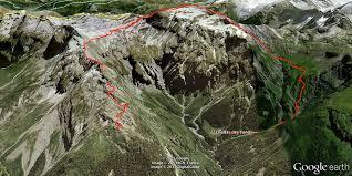 Refuge du grenairon et mont Buet à Sixt-Fer-à-Cheval. Patrice Lavocat, gardien.