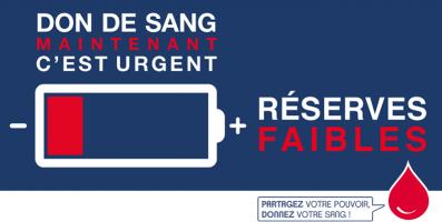 Don du sang extrême urgence avec Laurence Delcroix, chargée de communication Etablissement Français du sang 74.